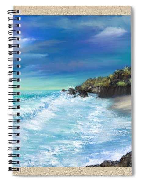 My Private Ocean Spiral Notebook