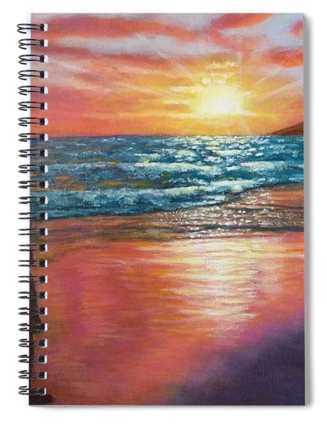My Sonset Spiral Notebook