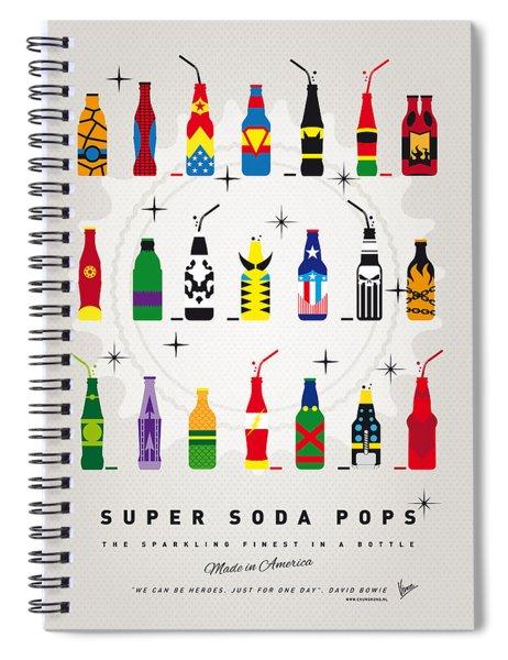 My Super Soda Pops No-00 Spiral Notebook