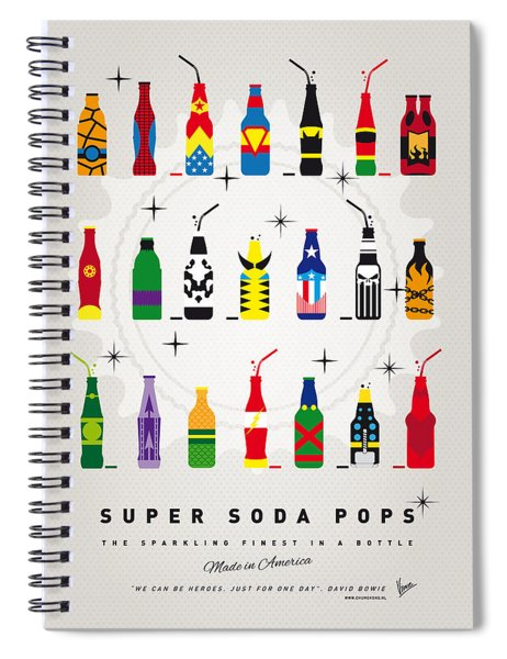 My Super Soda Pops No-00 Spiral Notebook