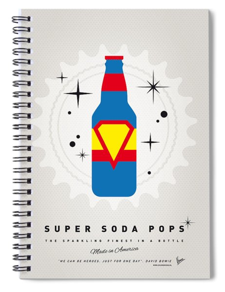 My Super Soda Pops No-05 Spiral Notebook