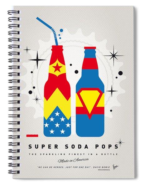 My Super Soda Pops No-06 Spiral Notebook