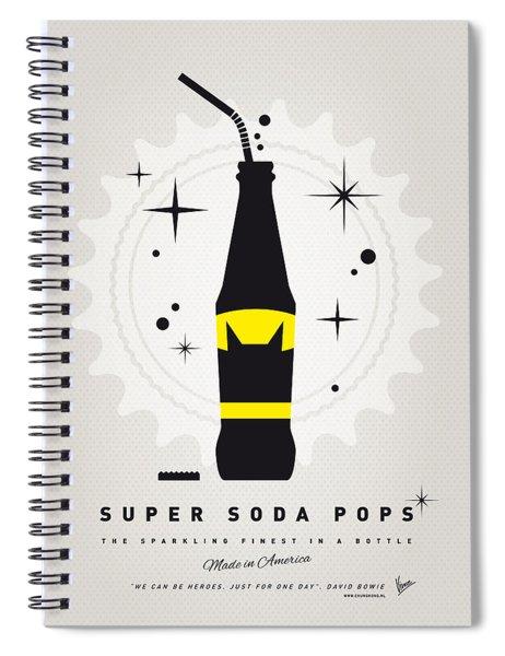 My Super Soda Pops No-07 Spiral Notebook