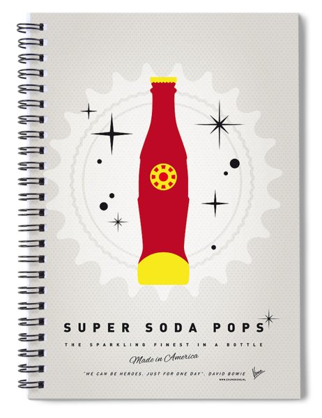My Super Soda Pops No-09 Spiral Notebook