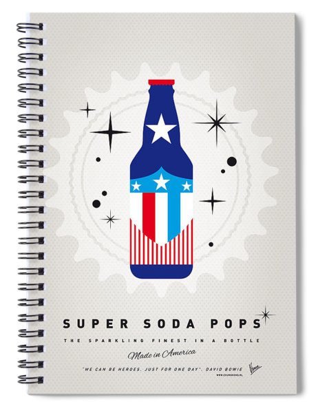 My Super Soda Pops No-14 Spiral Notebook