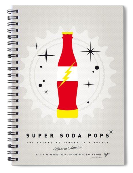 My Super Soda Pops No-18 Spiral Notebook