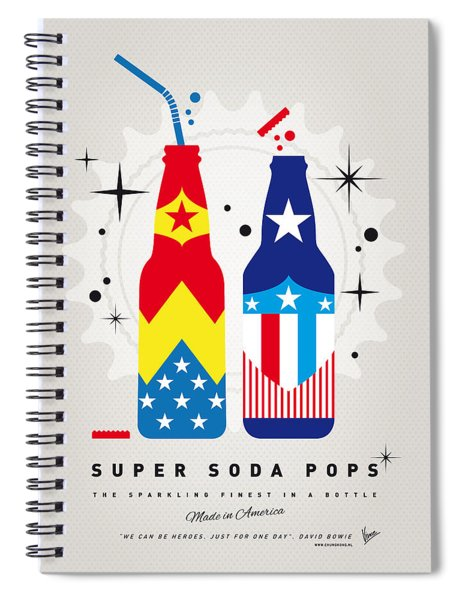 My Super Soda Pops No-24 Spiral Notebook
