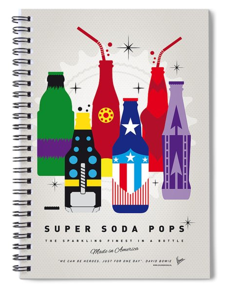 My Super Soda Pops No-27 Spiral Notebook
