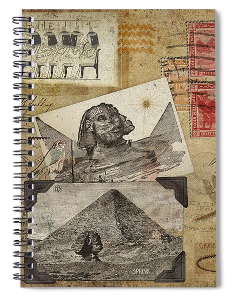 My Trip To Egypt 1914 Spiral Notebook