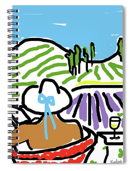 My Tuscany Dream 2 Spiral Notebook