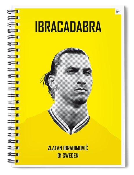 My Zlatan Soccer Legend Poster Spiral Notebook
