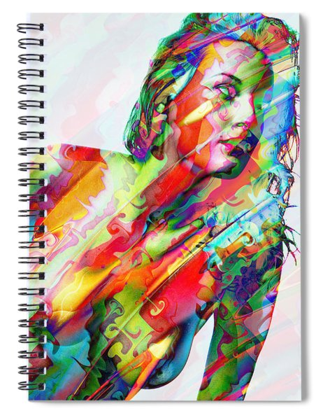 Myriad Of Colors Spiral Notebook