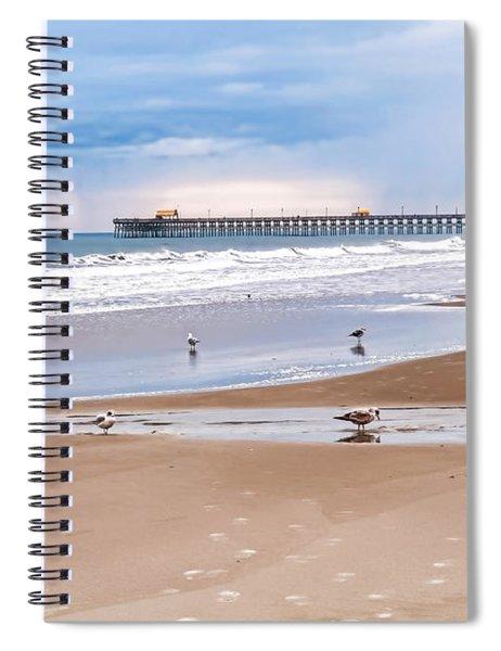 Myrtle Beach - Rainy Day Spiral Notebook