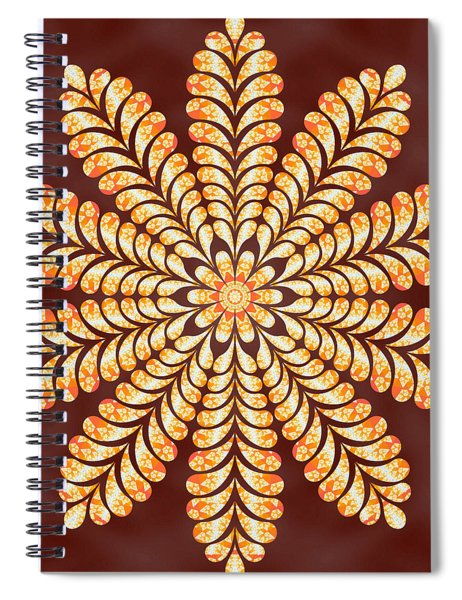 Mystery Jewel Of Kedah Spiral Notebook