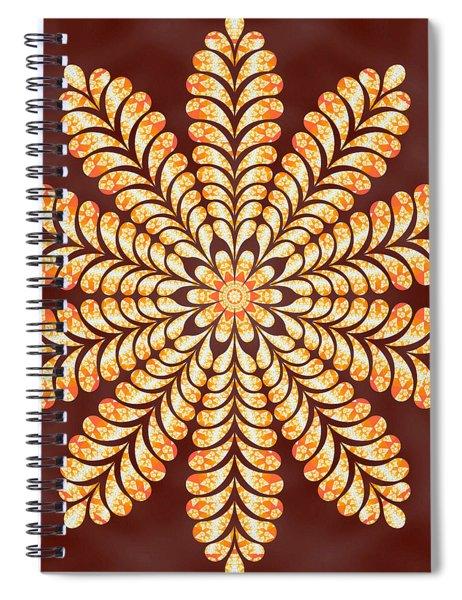 Spiral Notebook featuring the digital art Mystery Jewel Of Kedah by Derek Gedney