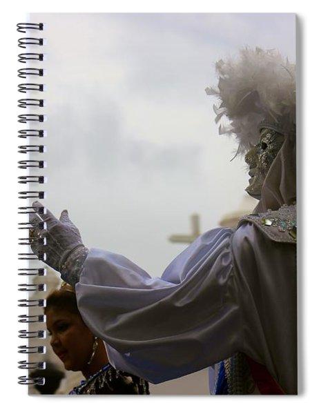 Mystery Mask Spiral Notebook
