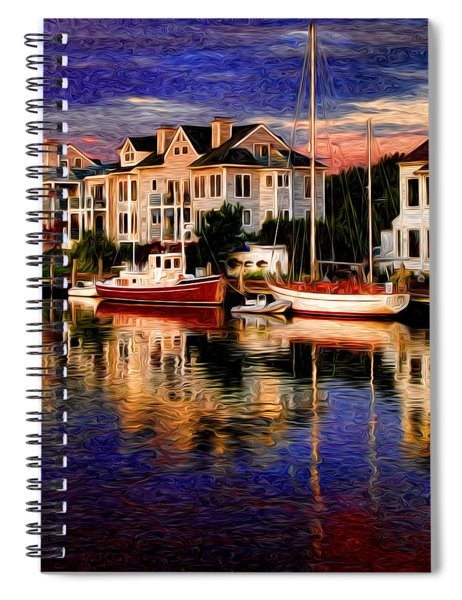 Mystic Ct Spiral Notebook