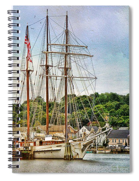 Mystic Seaport  Spiral Notebook