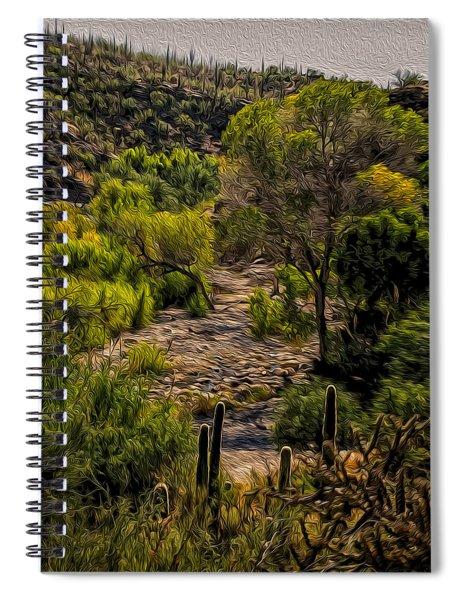 Mystic Wandering Spiral Notebook
