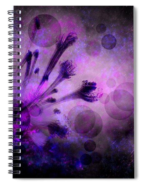 Mystical Nature Spiral Notebook