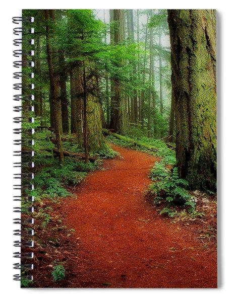 Mystical Trail Spiral Notebook