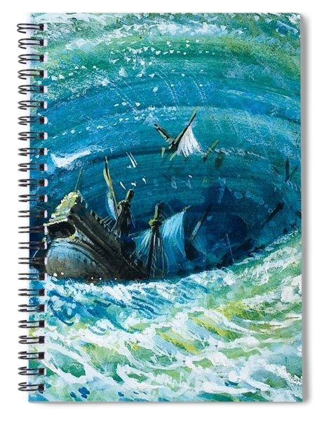 Myths And Legends Spiral Notebook