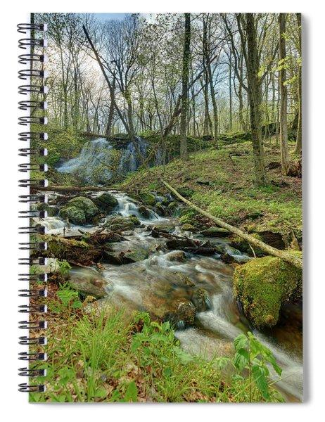 Naked Creek Falls Spiral Notebook