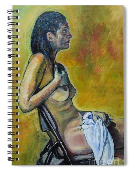 Naked Tellervo 1 Spiral Notebook