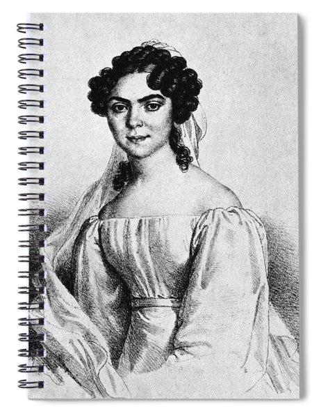 Nanette Schechner-waagen (1806-1860) Spiral Notebook