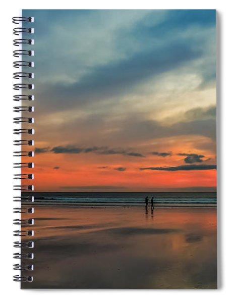 Nantasket Beach Sunrise Spiral Notebook