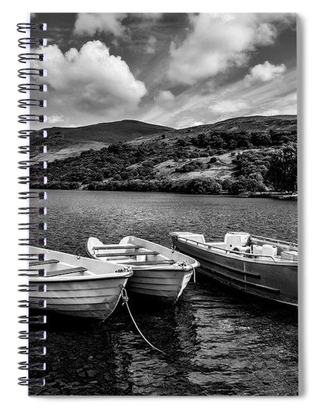 Nantlle Uchaf Boats Spiral Notebook