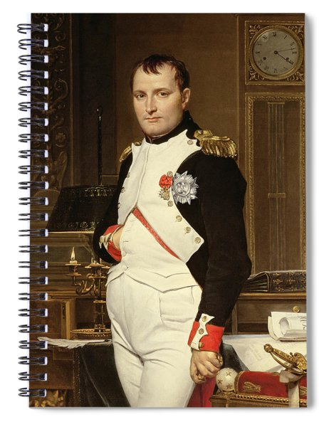 Napoleon Bonaparte In His Study Spiral Notebook