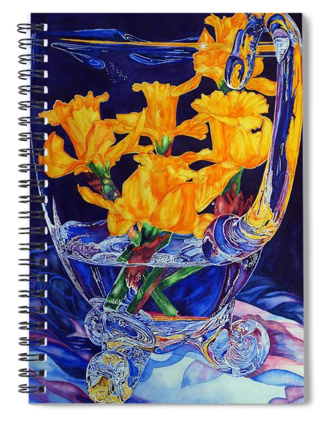 Narcisses Dans Un Vase From Master Class Spiral Notebook