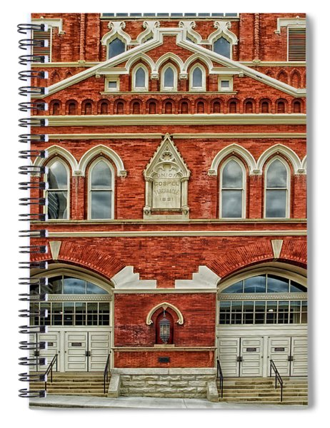 Nashville's Historic Ryman Auditorium Spiral Notebook