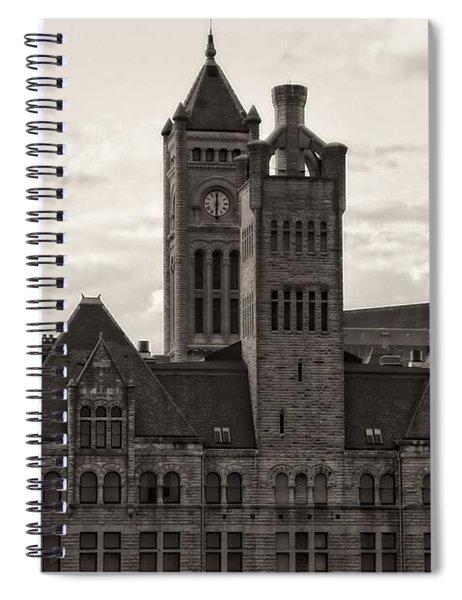 Nashville's Union Station Spiral Notebook