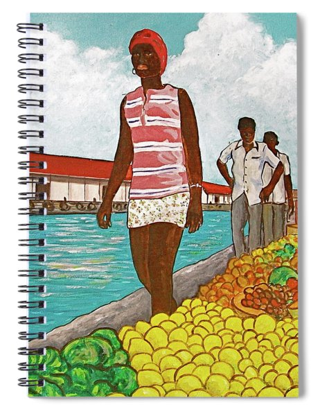 Nassau Woman Spiral Notebook