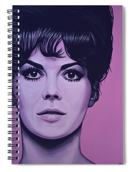 Natalie Wood Spiral Notebook