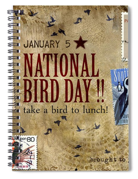 National Bird Day Spiral Notebook
