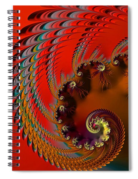 Native American Headdress Spiral Notebook