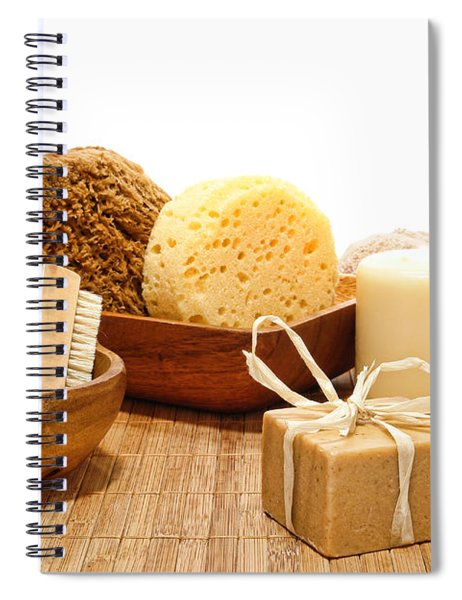 Natural Body Care Spiral Notebook by Olivier Le Queinec