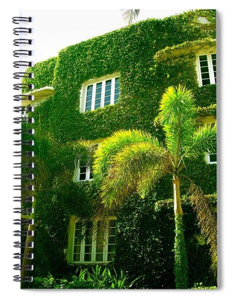 Natural Ivy House Spiral Notebook
