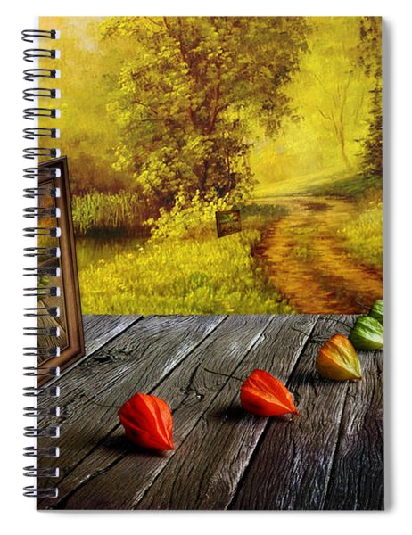 Nature Exhibition Spiral Notebook