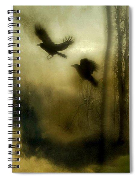 Nature's Blur Spiral Notebook