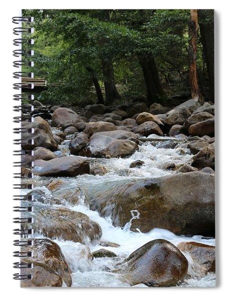 Nature's Flow  Spiral Notebook