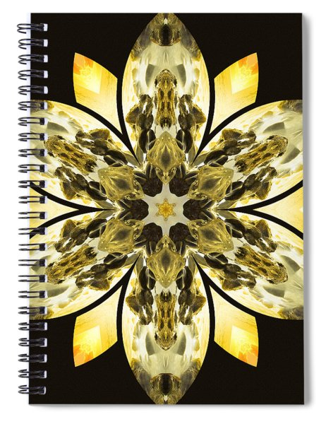 Nature's Mandala 57 Spiral Notebook