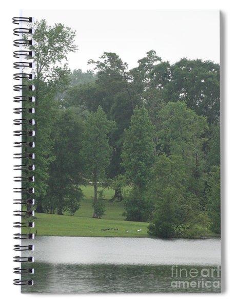 Nature's Serenity Spiral Notebook