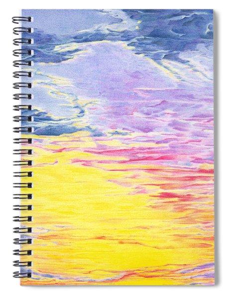 Nature's Sky Palette Spiral Notebook