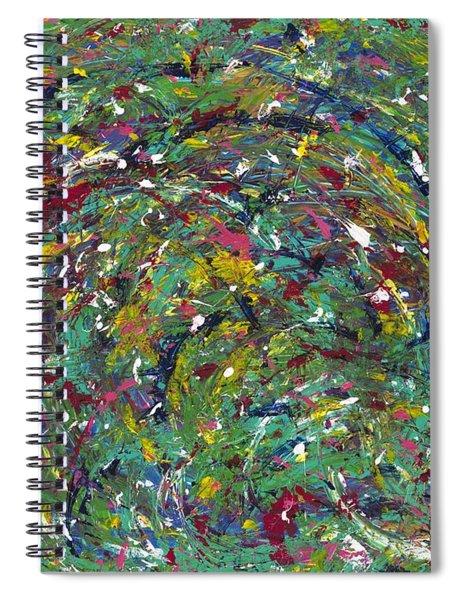 Nature's Vortex Spiral Notebook