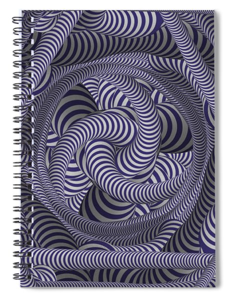 Nautical Coloured Design Spiral Notebook