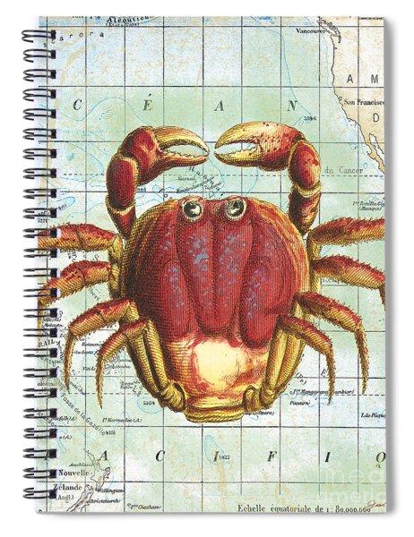 Nautical Journey-g Spiral Notebook